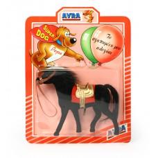Άλογο 16εκ. σε καρτέλα σε 3 χρώματα - 00738