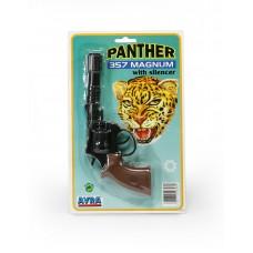 Όπλο πλαστικό 22εκ. 8-σφαιρο για καψύλια - 006082