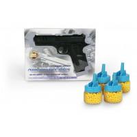 Όπλο πλαστικό 19εκ. με 4 κουτάκια μπίλιες - 57240-18660