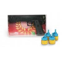 Όπλο πλαστικό 29εκ. με 4 κουτάκια μπίλιες - 57450-18660