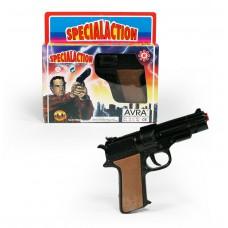Όπλο μεταλλικό 18εκ. 8-σφαιρο για καψύλια - TC7888A