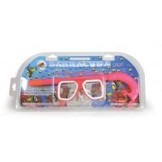 Μάσκα θαλάσσης με αναπνευστήρα σε 3 χρώματα - 007126
