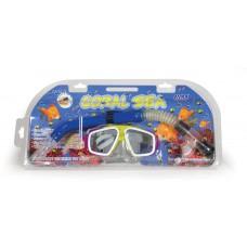 Μάσκα θαλάσσης με αναπνευστήρα σε 3 χρώματα - 007720