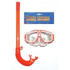 Μάσκα θαλάσσης με αναπνευστήρα σε 3 χρώματα - 007737