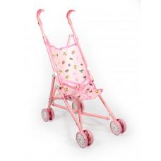 Καρότσι κούκλας ροζ μεταλλικό - 10699