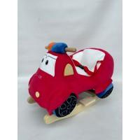 Κουνιστό αυτοκινητάκι κόκκινο Police - WJ-669R
