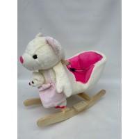 Κουνιστό αρκουδάκι με μωρό - WJ-688