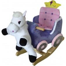 Κουνιστή άμαξα Princess με άλογο WJ-670