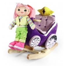 Κουνιστή άμαξα με κούκλα WJ-670-F18512