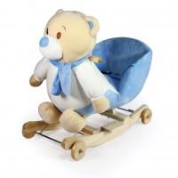 Κουνιστό αρκουδάκι Blue - WJ-6108B-W