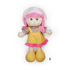 Κούκλα πάνινη 50εκ. με ομιλία σε 3 σχέδια - 52920