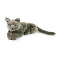Γάτα λούτρινη ξαπλωτή 48εκ. - 163-19