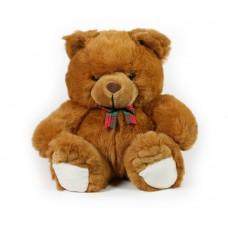 Αρκούδα λούτρινη 32εκ. σε 2 χρώματα - 004675