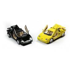 Αυτοκινητάκι μεταλλικό sport 18εκ. 1:24 σε 2 χρώματα - 005573
