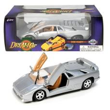 Αυτοκινητάκι μεταλλικό sport 18εκ. 1:24 σε 2 χρώματα- 9702Β-WL