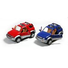 Αυτοκινητάκι μεταλλικό  τζιπ 17εκ. 1:24 σε 2 χρώματα, 9704Β-WL