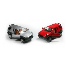 Αυτοκινητάκι μεταλλικό  τζιπ 17εκ. 1:24 σε 2 χρώματα, 9705Β-WL