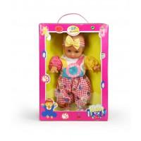 Μωράκι 28εκ. που μιλάει, σετ σε κουτί με ρούχα & αξεσουάρ - 6302