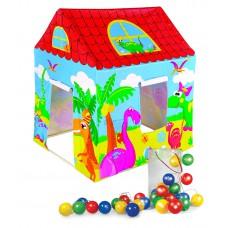 Παιδική σκηνή με ζωάκια & πολύχρωμα φωτάκια - 97016-L