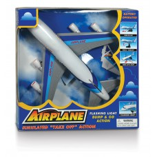 Αεροπλάνο μπαταρίας 27εκ. με κίνηση & ήχο - 1301-W